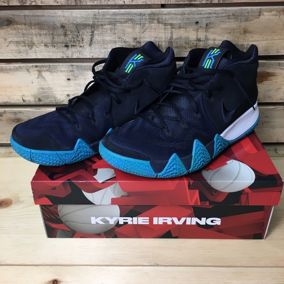 92308e1e51e9 Nike Kyrie 4 Dark Obsidian Size 12. M 5ab12e8ddaa8f6a9f9ab0167